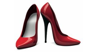 Klok på skor