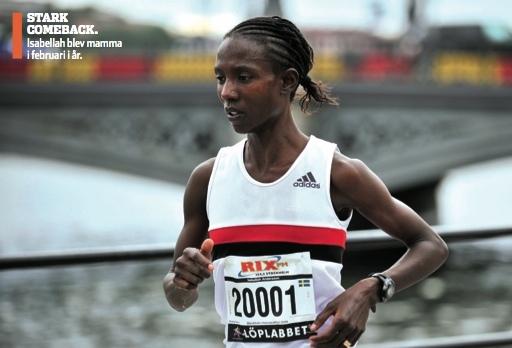 Svenskt rekord i halvmaraton