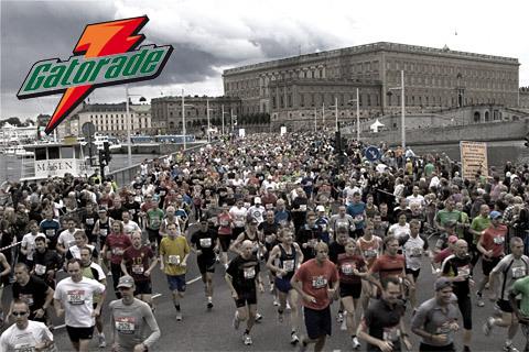 Gatorade erövrar Stockholm Halvmarathon