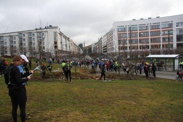 Rekorddeltagande i Stockholm Rogaining