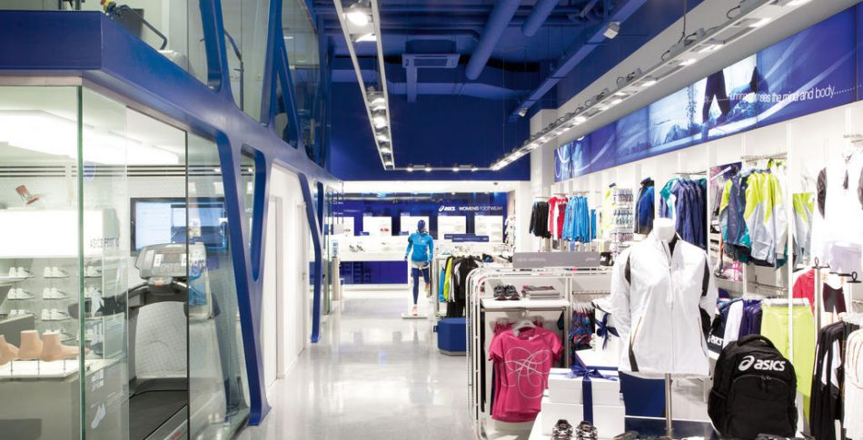 Asics öppnar konceptbutik i Amsterdam