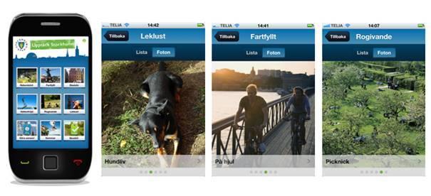 Hitta löparspår med ny Stockholms-app