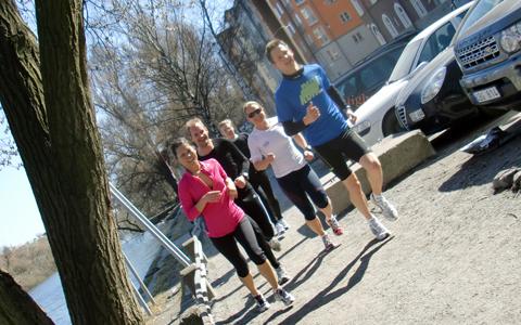 Lunchlöpning ger mer än bara träning