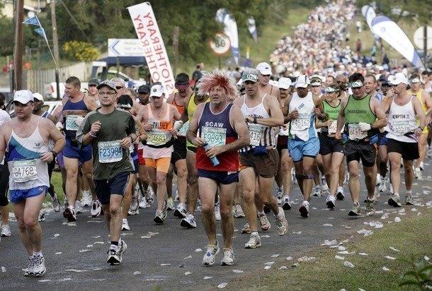 Jonas Buud fyra i Comrades Marathon