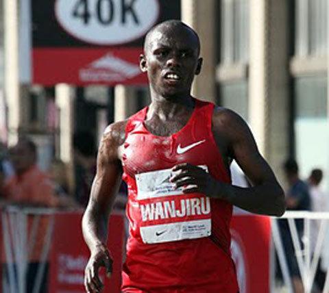 Olympiska mästaren Sammy Wanjiru död
