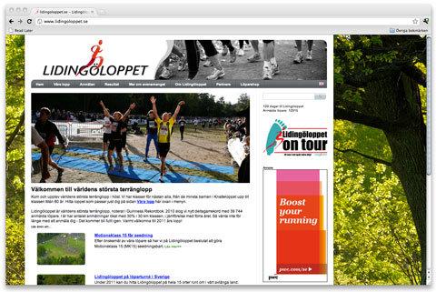 Lidingöloppet får ny hemsida och logotyp