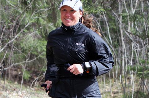 Svenskt ultrarekord av Anna Grundahl