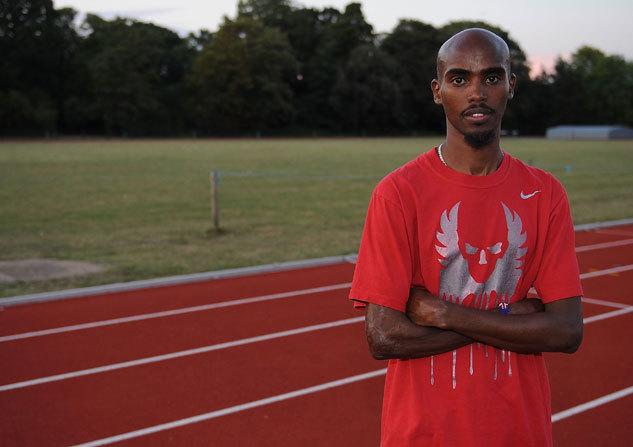 Brittiska Runner's World träffar Mo Farah