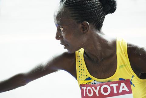Isabellah Andersson springer Tjejmilen!