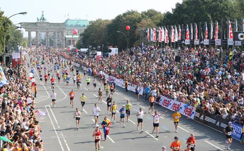 Berlin Marathon med världsrekordhållare