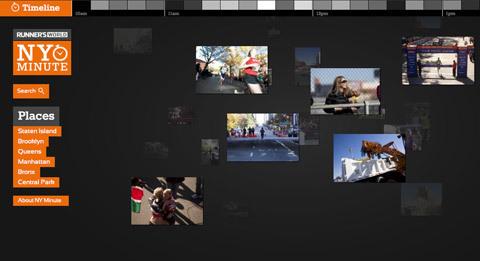 New York Marathon 2011 minut för minut