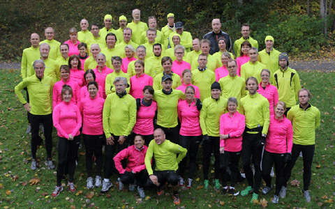 Rekordstort Team Stockholm Marathon