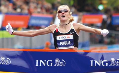Paula Radcliffe får behålla världsrekordet