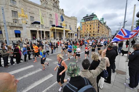 Stockholm Marathon 2012 är redan fullt