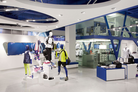 Asics öppnar butik i centrala Stockholm