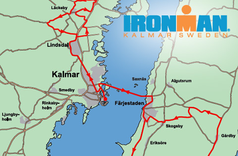 Banorna klara för Ironman Kalmar