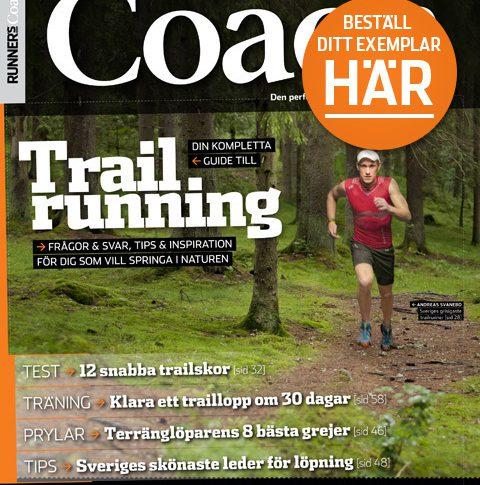 Beställ Runner's Worlds Trail Coach här