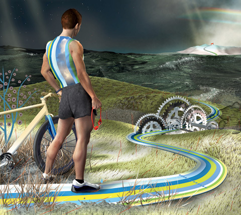 Löpning efter cyklingen gör dig snabbare
