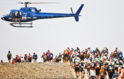 Följ rapportering från Marathon de Sables