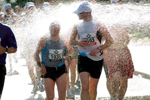 Törst går först i Stockholm Marathon