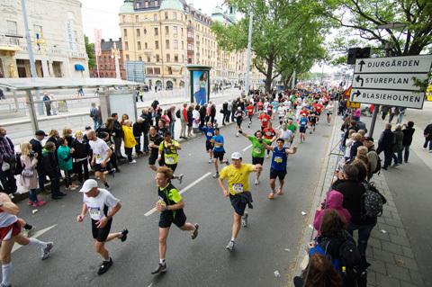 Tulu favorit i ovisst Stockholm Marathon