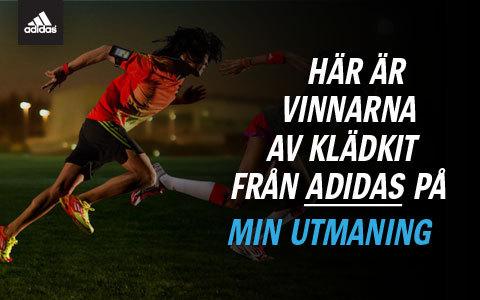 Vinnarna av löparkläder från Adidas