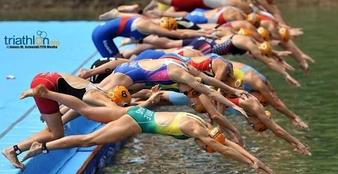 Deltagarantalet i World Triathlon Stockholm 2012 stiger