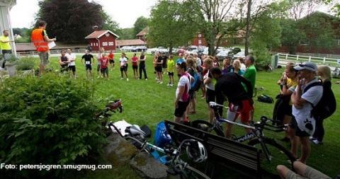Prova på triathlonträning i Göteborg