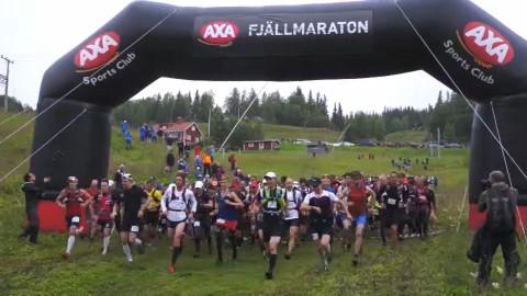 Filmen från AXA Fjällmaraton 2012