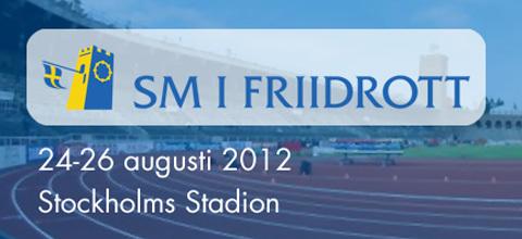 Rekordstort Friidrotts-SM på Stadion