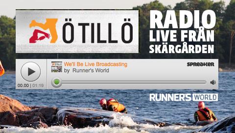 Liveradio från Ö till Ö hela tävlingsdagen