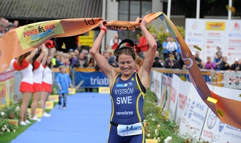 Eva Nyström världsmästare i duathlon