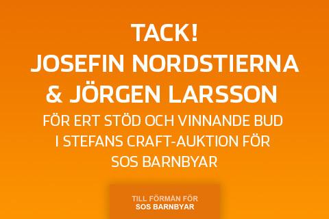 Ett stort SOS-tack till Josefin och Jörgen