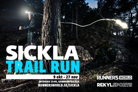 En höst på stig: Sickla Trail Run 2013