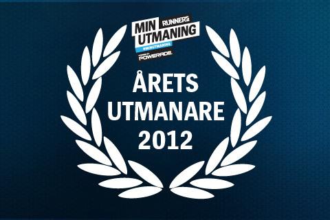 Årets Utmanare för 2012 är utsedd!