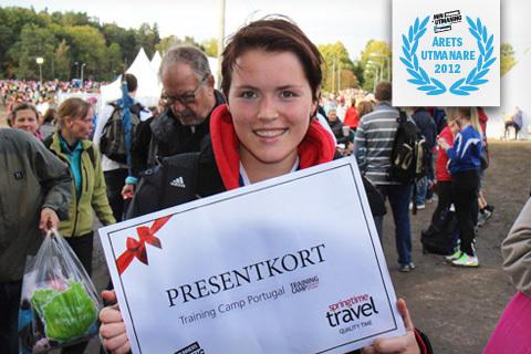 Thea Bengtsson är Årets Utmanare 2012