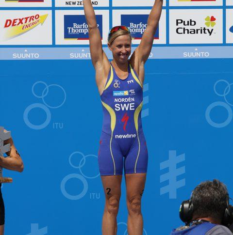 Lisa Nordén vann VM-guld trots magsjuka