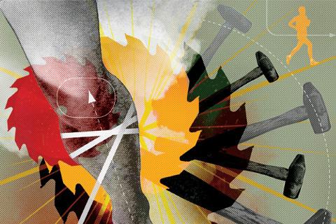 Löpares vanligaste skador: Löparknä