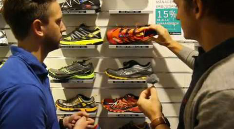 Vi hjälper dig välja skor för trail running
