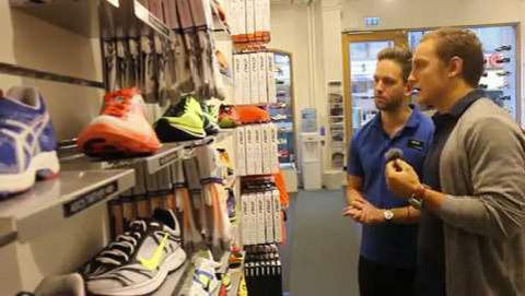 Vi hjälper dig välja skor för hallträning