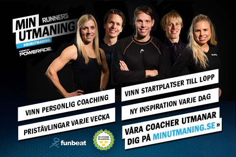 Vinn coaching med Min Utmaning 2013