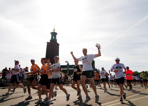 Nu är det fullt i Stockholm Marathon 2013