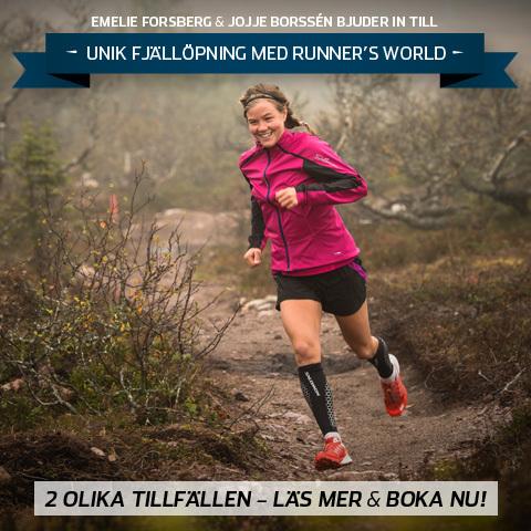 Följ med på Runner's Worlds Fjällöpning