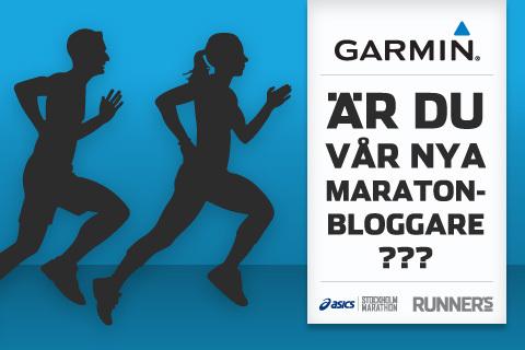 Vi söker Stockholm Marathon-bloggare!