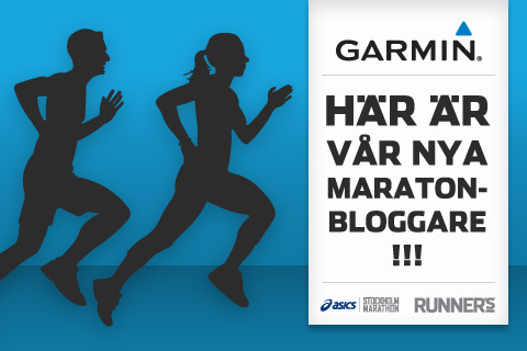 Möt våra två nya maratonbloggare!