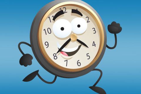 Spring som en klocka för maximal effekt!