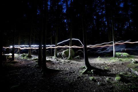 Hellner springer Haglöfs Night Trail Run