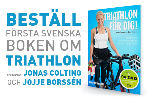 """Nu kan du beställa """"Triathlon för dig!"""""""