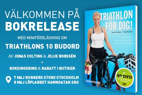 Dags för bokrelease av Triathlon för dig!