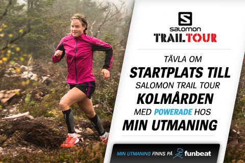 Vinn start i Salomon Trail Tour Kolmården
